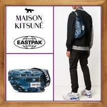 ★MAISON KITSUNE×Eastpak 《 PRINTED BELT BAG 》送料込み★
