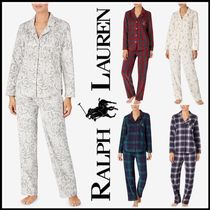 送料込★LAUREN RALPH LAUREN Long Printed パジャマ Set♪