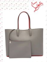 Christian Louboutin/Cabata spike-embellished leather tote