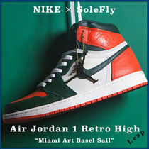 "【Nike×SoleFly】人気 Air Jordan 1  ""Miami Art Basel Sail"""