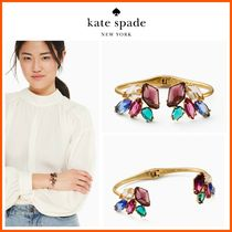 【大人気】最新作!!☆kate spade☆rock it open hinged cuff