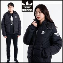 Adidas_[ UNISEX ]  DOWN JACKET BLACK☆正規品・安全発送☆