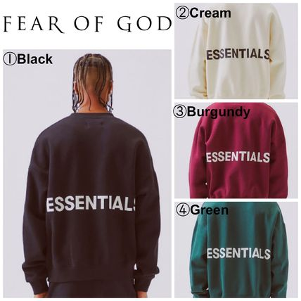【FEAR OF GOD】☆最新作☆FOG Crew Neck Sweatshirt