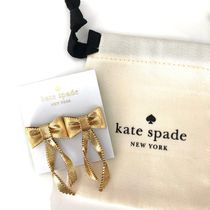 kate spade★リボン型ピアス★all wrapped up★完売品
