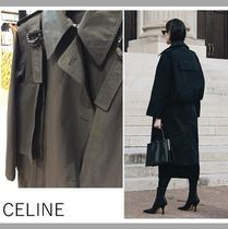 【CELINE】TRENCH COAT/BLACK