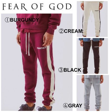 【FEAR OF GOD】☆最新作☆FOG Side Stripe Sweatpants