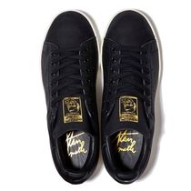 ADIDAS☆STAN SMITH PREMIUM(22‐28㎝)BLACK/GOLD B37901