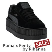 【Puma x Fenty by Rihanna 】Cleated Creeper Suede0ブラック