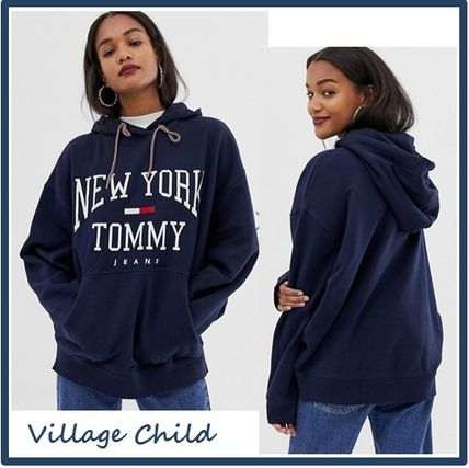 Tommy Jeans☆New York ロゴ パーカー フーディ ☆送関込み