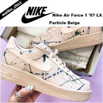 Nike Air Force 1 '07 LX スニーカー Particle Beige ペイント