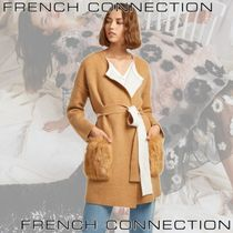FRENCH CONNECTION(フレンチコネクション) カーディガン ★French connection★Vhari Faux Fur Pocket Cardigan