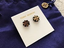 【国内発送最短1日!】Tory Burch Logo Flower Resin Earrings