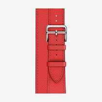HERMES Apple Watch エルメス Strap Double Tour 38 mm etoupe