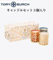 【Tory Burch】VOTIVE CANDLE SET, 3-PIECE