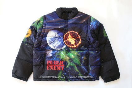 国内発送!Supreme UNDERCOVER Public Enemy Puffy Jacket