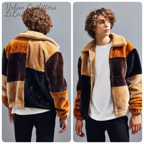 UrbanOutfitters★Patchwork Faux Fur Jacket フリース