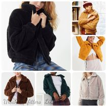 UrbanOutfitters★UO Cropped Teddy Jacket ジャケット