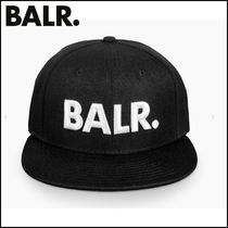 【BALR】BRAND COTTON CAP BLACK