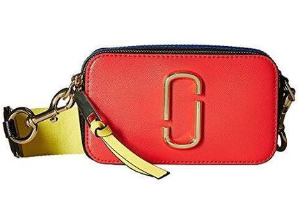Marc Jacobs☆Snapshot  Leather Camera Bag poppy red multi