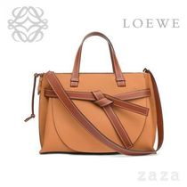 LOEWE★ロエベ Gate Top Handle Light Caramel/Pecan Color