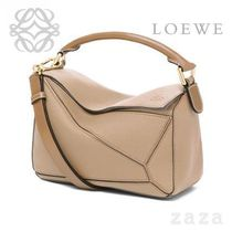 LOEWE★ロエベ Puzzle Small Bag Sand/Mink Color