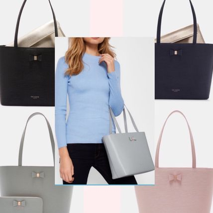 TED BAKER★DEANIEリボン付きレザーバッグ4色