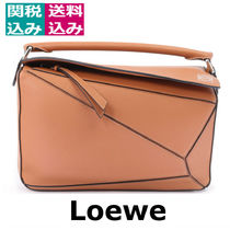 2019SS☆LOEWE☆ Puzzle beige leather bag パズル