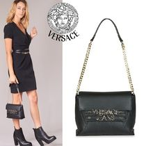 Versace Jeans★関税込み☆ゴールドロゴ☆ショルダーバッグ
