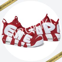 26.5〜28.5cmまで/ Supreme Nike Air More Uptempo モアテン Red