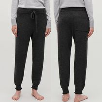 """""""COS"""" CASHMERE DRAWSTRING TROUSERS DARKGRAY"""