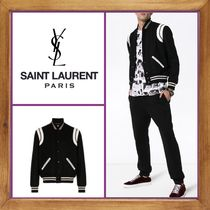 ★★★SAINT LAURENT  《 WOOL BOMBER  JACKET 》送料込み★★★