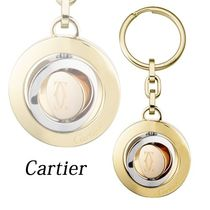 【Cartier】国内発送 3リング デコール キーリング