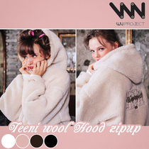 WV PROJECT★ Teeni Wool Hood Zip-up 4カラー - MJHD7194