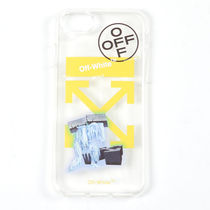 オフホワイト ICE MAN IPHONE 8 COVER TRANSPARENT iPhone7/8