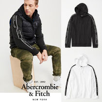 Abercrombie&Fitch*国内発送(追跡有)送関込*袖ロゴフーディ
