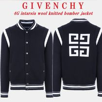 VIP SALE【GIVENCHY】4Gウールボンバージャケット☆国内発送