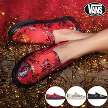 VANS◆CLASSIC SLIP ON FESTIVAL SATIN◆刺繍◆サテン素材◆3色