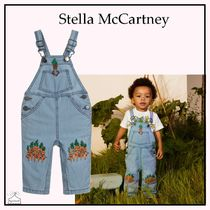 Stella McCartney☆BABY シャンブレーダンガリー blue 6-36M