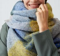 """ARKET(アーケット) マフラー """"ARKET"""" Oversized Checked Scarf MultiColor"""