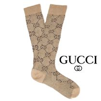 【19SS】★GUCCI★GG-intarsia metallic cotton-blend socks