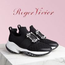 【滝沢眞規子さん愛用】★ROGER VIVIER★Viv' Run Strass Buckle