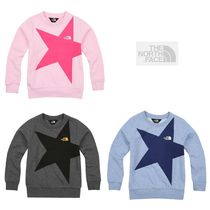 THE NORTH FACE★KIDS BIG STAR SWEAT SHIRTS 3colors