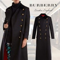 【18AW】★BURBERRY★Double-breasted wool military coat