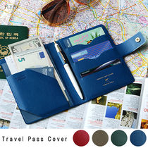 [PLEPIC] Travel Pass Cover/パスポートケース