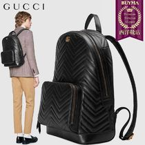 【正規品保証】GUCCI★19春夏★GG MARMONT MATELASSE BACKPACK