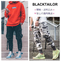 パンツ ★大人気・【BLACKTAILOR】・C1 CARGO (BLACK)