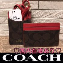 Coach(コーチ) ☆カードケース☆  国内発送/送料込/関税込み