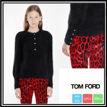 大人気★送料関税込★TOM FORD ANGORA ROUND NECK KNITWEAR