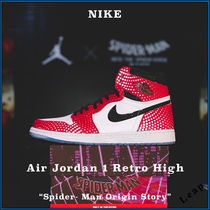 "【Nike】Air Jordan 1 Retro High ""Spider-Man Origin Story"""