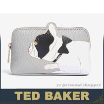 TED BAKER(テッドベーカー) メイクポーチ 関送込!Ted Baker ドッグ メイク ポーチ